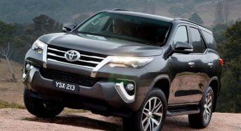 Novo Toyota SW4 ganha Nota Máxima em Teste de Colisão