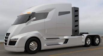 Nikola One: Caminhão híbrido-elétrico com autônomia de até 1.920 km