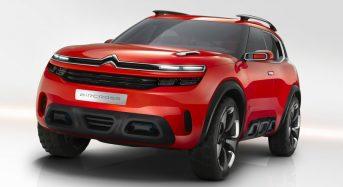 Citroen confirmou a fabricação de novo SUV na França