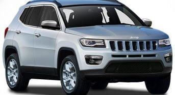 Novo Jeep Compass será lançado em outubro de 2016