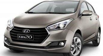 Novo Hyundai HB20 2017 – Modelos, Novidades, Preços e Consumo do Motor