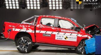 Holden Colorado 2017 ganha 5 Estrelas em Teste de Segurança