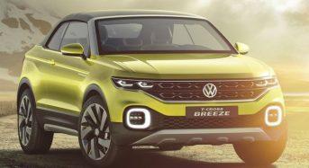 Volkswagen T-Cross Breeze deverá ser produzido no Brasil