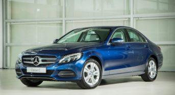 Mercedes- Benz C 180 conta com um motor 1.6 turboflex