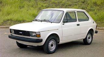Fiat 147 – Primeiro Carro da FIAT produzido no Brasil