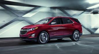 Chevrolet Equinox – 3ª geração para a linha 2018