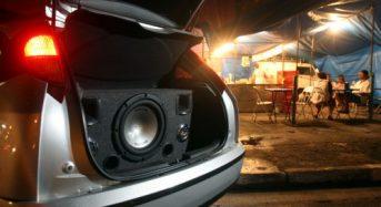 Multa em Carros com Som Alto poderão ser aplicadas sem Medidor de Barulho