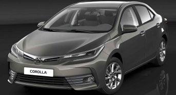 Toyota Corolla 2017 passa por Facelift no Brasil