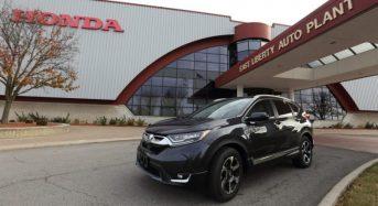 Honda CR-V 2017 1.5 Turbo – Início da Produção