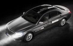 Mercedes-Benz apresenta Novos Faróis que fazem Projeções na Estrada