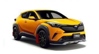 Toyota C-HR ganha Kits Esportivos TRD e Modellista