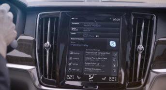 Volvo coloca Skype dentro de seus Carros