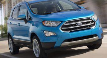 Ford EcoSport 2018 terá Produção no Brasil