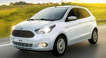 Aumento nos Preços do Ford Ka e Ka+ 2018