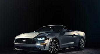 Novo Ford Mustang 2018 Conversível – Primeiras Imagens