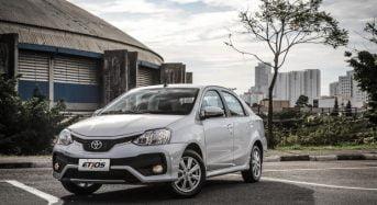 Toyota Etios 2018 – Preço das Versões