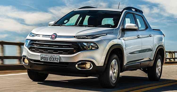 Fiat Toro é a Picape mais Vendida no Brasil – Fevereiro 2017 • Carro Bonito