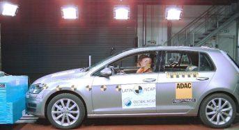 Volkswagen Golf é o Carro Mais Seguro Produzido no Brasil