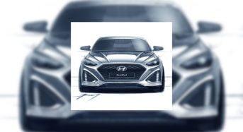 Hyundai Sonata 2018 – Primeiras Imagens