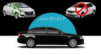 Uber Select – Carros Aceitos e Como Funciona