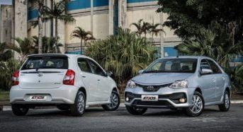 Toyota Etios 2018 – Tabela de Preços
