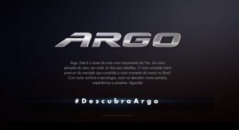 Fiat Argo – Novo Hatch que irá substituir o Punto e Bravo