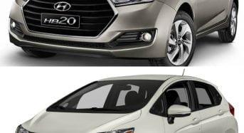 Hyundai HB20 x Honda Fit – Qual é Melhor?