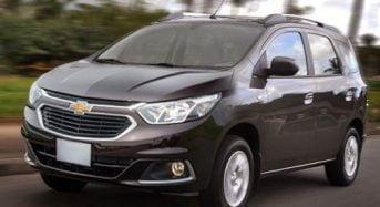 Chevrolet Spin – Ficha Técnica, Preços das Versões