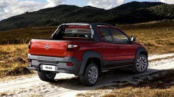 Nova Fiat Strada será lançada em 2019