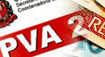 IPVA SP 2018 – Calendário de Pagamento