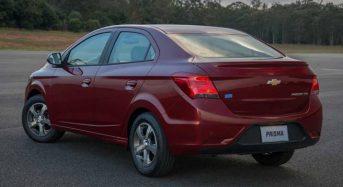 Chevrolet Prisma 2018 – Especificações, Preços