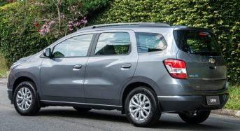 Chevrolet Spin 2018 – Versões, Ficha Técnica