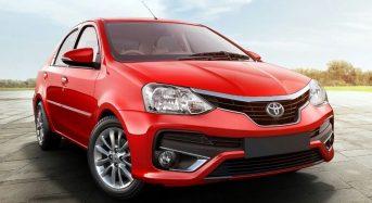 Toyota Etios Sedan 2018 – Versões, Especificações, Preços