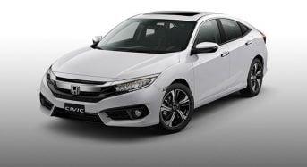 Honda Civic 2018 – Ficha Técnica, Novidades