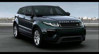 Range Rover Evoque 2018 – Ficha Técnica, Especificações