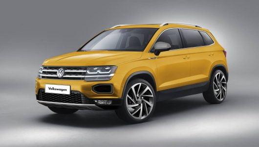 Novo Volkswagen Tarek – Primeiras Imagens