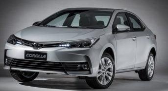 Toyota Corolla 2019 – Reajuste nos Preços