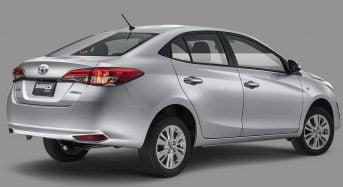 Toyota Yaris Sedan 2019 – Ficha Técnica, Especificações