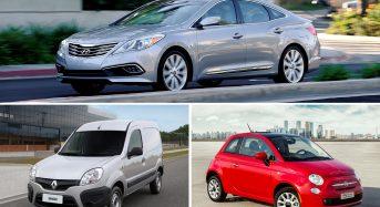 Fim do Hyundai Azera, Fiat 500 e Renault Kangoo no Brasil