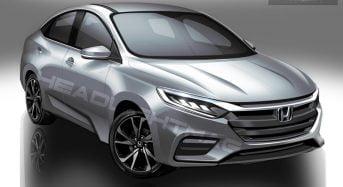 Novo Honda City 2020 com Motor 1.0 Turbo