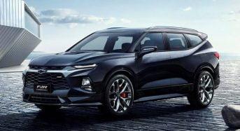 Novo Chevrolet Blazer XL 2019 com 7 Lugares
