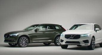 Novos Volvo XC60 e V60 ganham Motor 2.0 Híbrido